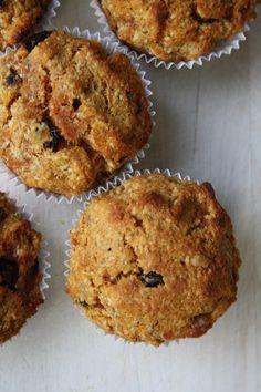 Muffins met amandelmeel