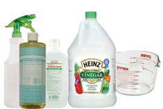 DIY Laminate Floor Cleaner Ingredients