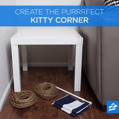 There's only one word to describe this feline-friendly home project: Purrrfect!