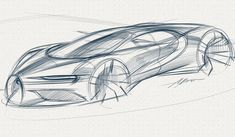 Drawing Sketches, Cool Drawings, Pencil Drawings, Drawing Ideas, Line Sketch, Sketch Pad, Car Design Sketch, Car Sketch, Industrial Design Sketch
