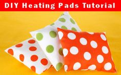 How to make heating pads, with lots of filler options