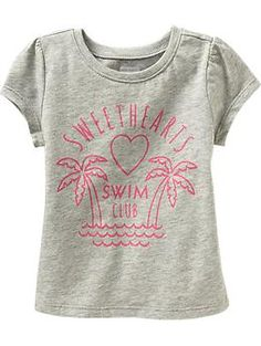 HAPPY 2ND Birthday!!  Fun tees for the playground.  Beach-Graphic Tees for Baby | Old Navy