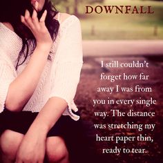 Teaser for Downfall #paranormalromance #novel