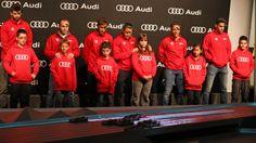 2013-12-03 AUDI entrega los nuevos coches a los jugadores del FC Barcelona Audi, Fc Barcelona, Motorcycle Jacket, Sports, Jackets, Design, Fashion, Club, Cars