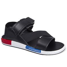 $18.24 (was $32.82). Men's Sandals With Elastic Band and PU Leather Design from Sammydress.