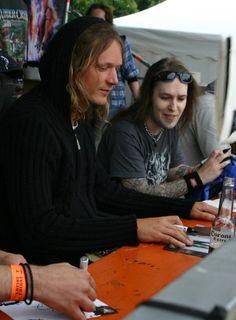 children of bodom Alexi Laiho, Children Of Bodom, Power Metal, Metalhead, Death Metal, My Books, Singer, 2000s, Couple Photos