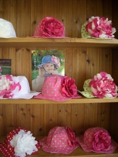 """We love our boutiques!   """"Jamie Rae Summer Hats are a consistent best seller at Chatham Kids. Customers love the vibrant colors and lush look of the flowers. Sizing is good with enough choices to fit almost all young children. A beautiful treat to have in the shop."""" Kathy Stumph Chatham Kids 21 Main Street Chatham, NY 12037 518-392-5848 https://www.facebook.com/ChathamKids?fref=ts"""