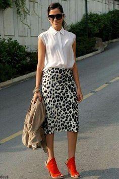 Looove the skirt