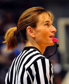 Dee Kantner - First female referee in a professional sport