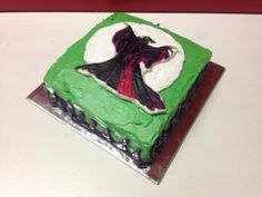 Disney malecifent cake
