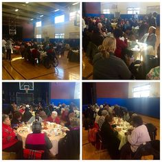 Cambridge Community Center's Annual Senior Citizen Thanksgiving Luncheon! 200 folks show up in our big gym. #thanksgiving #cambma by smgebru November 18 2015 at 10:09AM
