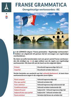 Franse grammatica - Onregelmatige werkwoorden: -re / Categorie: #Frans #français / (c) LERNiGO BV