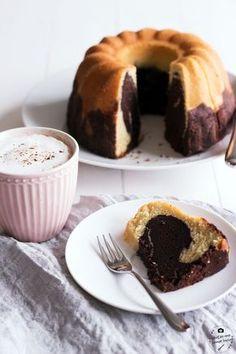 Saftiger Marmorkuchen mit viel Kakao, wie bei Oma!