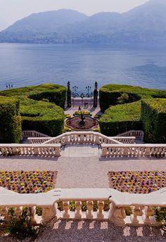 View from Villa Carlotta, Lago di Como went here in 1998 Lombardy