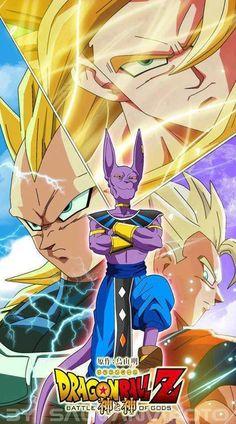 Dragonball Z Battle of Gods Poster