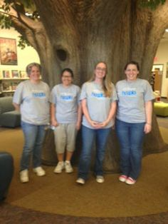 @floridalibassoc Volusia County Public Library is having hoopla Monday over at the Deltona branch! Looking great in their hoopla attire. We hope you and your patrons are having a great hoopla experience!  We would love to see how other libraries are spreading the hoopla word! Share with us @hoopladigital