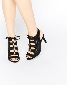 New+Look+Wide+Fit+Lazer+Cut+Lace+Up+Heels