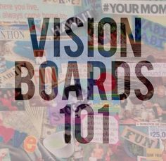 "bra tips! Vision Boards 101 vi·sion board ˈvi-zhənˈbȯrd noun : a visual representation of your goals, dreams, and ideal life. : see also-""dream board"" or ""inspiration board"" How to create a vision board:."