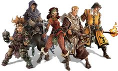 Hero Box: Glynda Battlestout, Julian, Sylvia Samedi, Tucker, and Arnaud