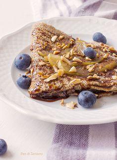 Galettes Bretonnes – Crepes di grano saraceno senza glutine e senza uova