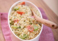 Quinoa met appelsien salade