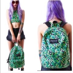 UNIF WEED AUTHENTIC BADSPORT BACKPACK  NEW UNIF WEED AUTHENTIC BADSPORT BACKPACK  NEW UNIF Bags Backpacks