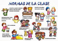 """Carteles """"Normas de Aula"""" – Dibujalia Blog"""