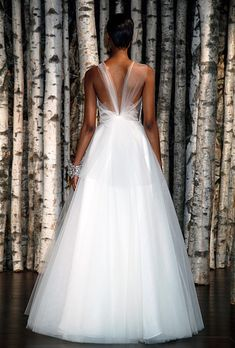 Backless Wedding Dresses with Pretty Details