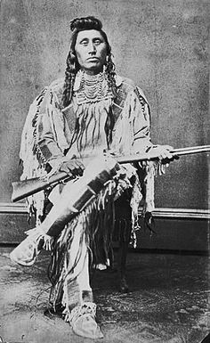 Chief Pretty Eagle (1846-1903) was a war chief, warrior, and diplomat of the Crow Nation. No date. Photographer not known. (Photoshopped copy)
