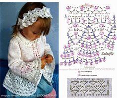 Crochet Jacket Crochet Hooded Scarf Crochet Saco Handmade Baby Crochet Baby Sweaters Crochet Clothes Knitting For Kids Crochet For Kids Dress Patterns Crochet Bedspread Pattern, Crochet Baby Dress Pattern, Baby Girl Crochet, Crochet Baby Booties, Crochet For Kids, Crochet Patterns, Crochet Baby Sweaters, Crochet Yarn, Crochet Clothes