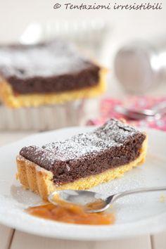 Tentazioni irresistibili: Torta alla mousse di cioccolato fondente e marmellata