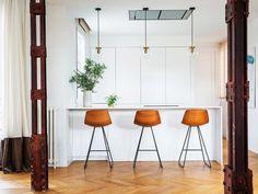 Cocinas de diseño: Un trío ganador