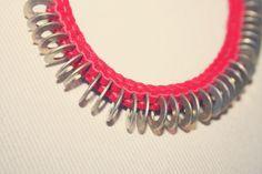 DIY - Scoubidou Suede Necklace