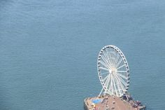 The Great Wheel is Seattle's famous ferris wheel. It is a top tourist attraction in Seattle and a fun thing to do.