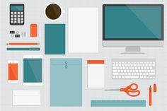 Flat Office Vectors