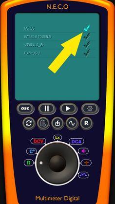 Arduino Digital Multimeter/Oscilloscope | N.E.C.O Arduino, Digital Ammeter, Start Screen, Light Meter, Printed Circuit Board, Electronics Projects, Circuits, Tutorials