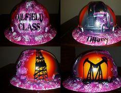 Custom paint hard hats and helmets - Custom Paint and Airbrush Design in Houston, Texas