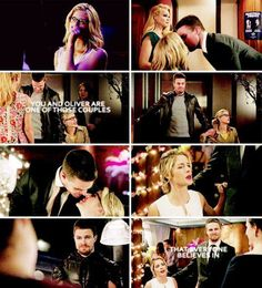 You and Oliver are one of those couples that everyone believes in. #Olicity <3