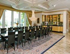 Florida Mansion Dining Room  Mansions Interior And Exterior Extraordinary Mansion Dining Rooms 2018