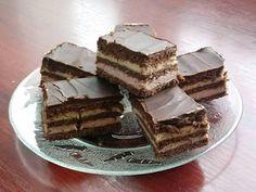 Receptek, és hasznos cikkek oldala: Édes puncsos finomság, a Lajcsi szelet, ha valami finomra vágysz! Tiramisu, Candy, Chocolate, Baking, Ethnic Recipes, Minden, Food, Sweet, Bread Making