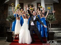 I love photographing weddings which are full of good spirit and happiness.