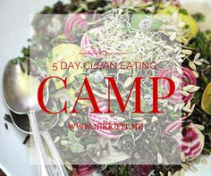 5 Day Clean Eating Camp by NikkiFitATX on Etsy