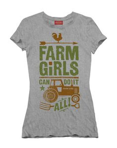 Farm Boy Co-op & Feed Co., LLC - Do It All Missy Fitted Tee