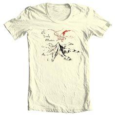 Men/'s Gondor Il Signore degli Anelli Lo Hobbit University T-shirt.