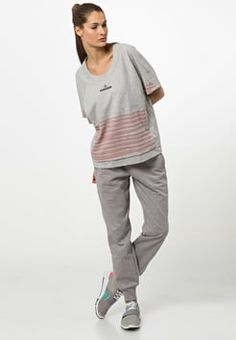 adidas by Stella McCartney - T-Shirt print - grey/rose