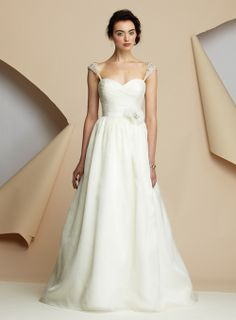 not a fan of the dress itself, just love the delicate capped sleeves.