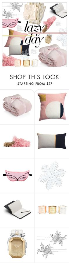 """Sleep In: Lazy Day"" by moody-board ❤ liked on Polyvore featuring Gucci, Pijama, Bellroy, Tom Dixon, Victoria's Secret, Matthew Williamson and LazyDay"