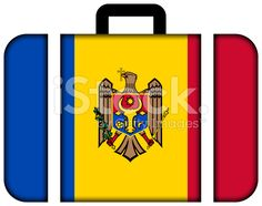 Suitcase with Moldova Flag royalty-free stock photo Moldova Flag, Flag Photo, Image Now, Romania, Suitcase, Royalty Free Stock Photos, Suitcases
