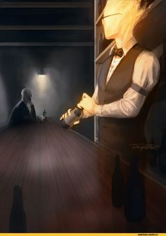 Grillby, Gaster
