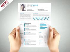 Resume Awesome Clean and Elegant Resume Template Free PSD. Download Clean and Elegant Resume Template Free PSD. This Clean Resume Template Free PSD that help you make a lasting impression when applying for your dream career. This free resume has unique approach to boring resume, creating modern, creative and easy to use templates just for you. This Clean and Elegant Resume Template Free PSD is A4...